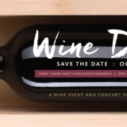 Save the Date Announcement for 2016 Wine D'Vine