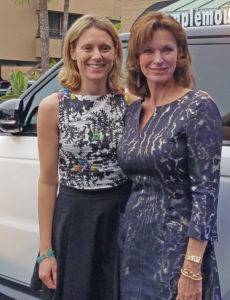 Spring Soirée Presenting Sponsors Jo Hannah and Karen Hoehn of Hoehn Jaguar Land Rover of Carlsbad