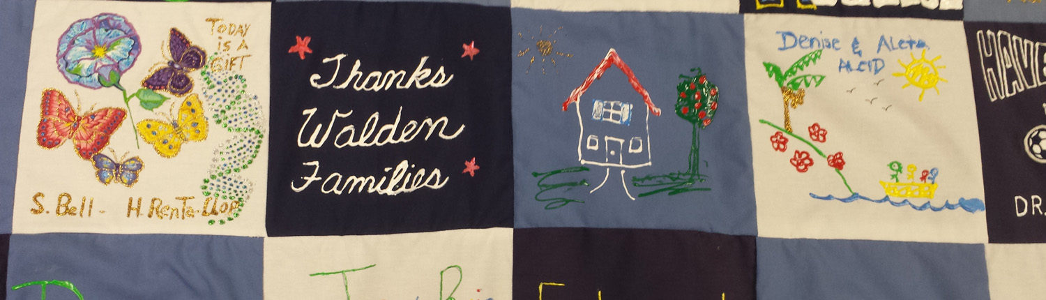 Walden Family Services Quilt