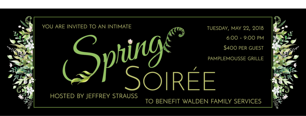 Spring Soiree Invitation