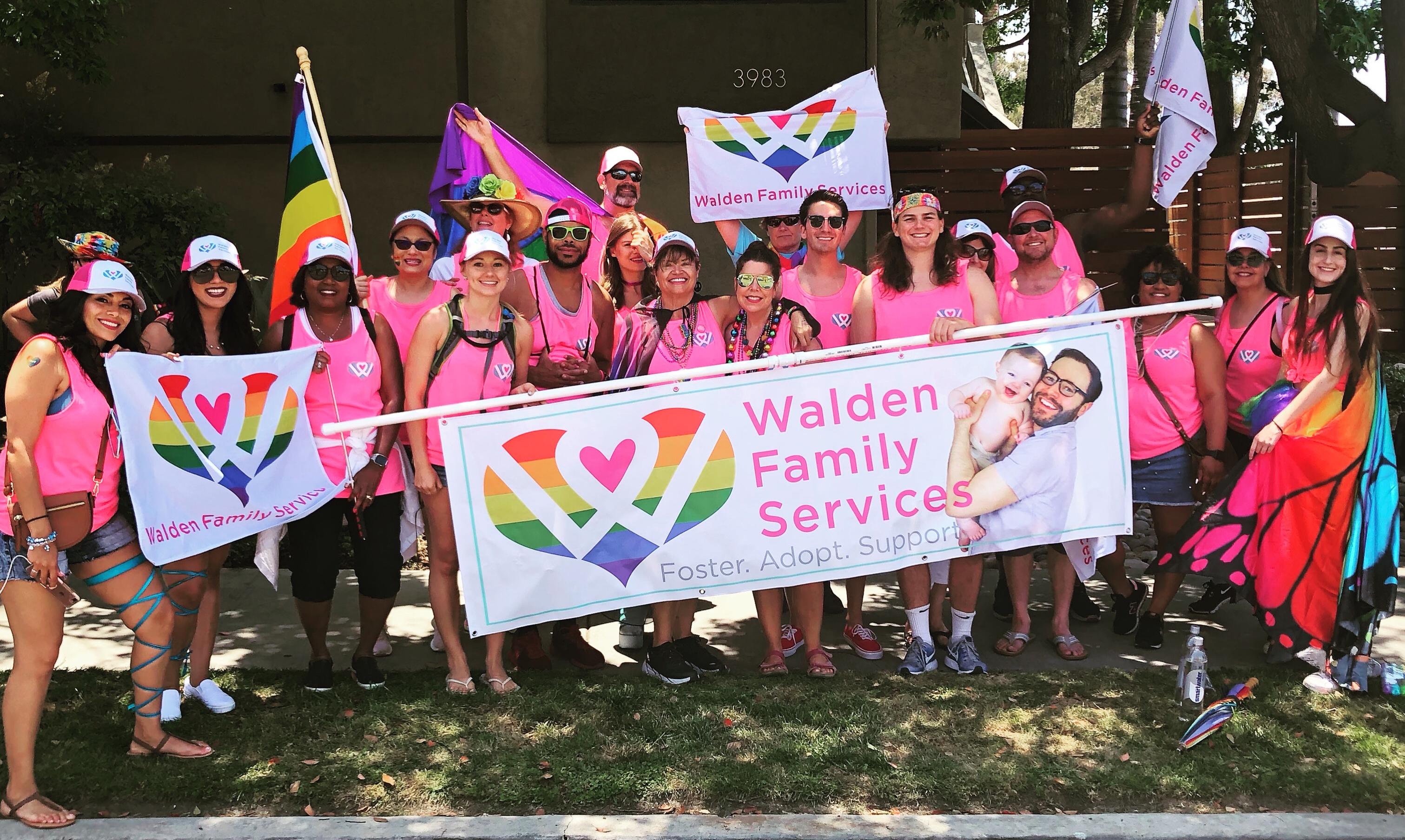 Waldem Family at Pride Parade